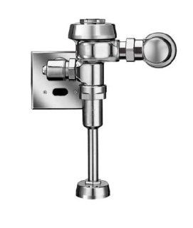 "Sloan 3452617 Brushed Nickel Optima Royal Exposed, Sensor Operated Royal Model Low Consumption (1.0 gpf/3.8 Lpf) Urinal Flushometer, for 3/4"" top spud urinals. 186 1.0 ES S: Home Improvement"