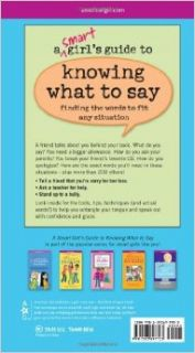 A Smart Girl's Guide to Knowing What to Say (American Girl): Patti Kelley Criswell, Angela Martini: 9781593697723: Books