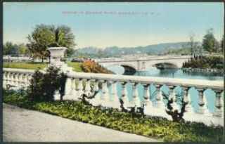 Bridges in Duke's Park Somerville NJ postcard 191?: Collectibles & Fine Art