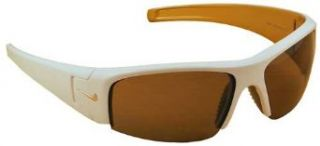 Nike Diverge.L Sunglasses, EV0473 191, Victory White Gold Frame / Nike Max Brown Lenses: Clothing