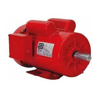 Weg Farm Duty Motor, 00318es1dfd184t, 3 Hp, 1800 Rpm, 230 Volts, Tefc, 1 Ph   Electric Fan Motors