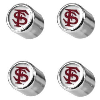 NCAA Florida State Seminoles (FSU) Tire Valve Stem Covers : Sports Fan Automotive Flags : Sports & Outdoors