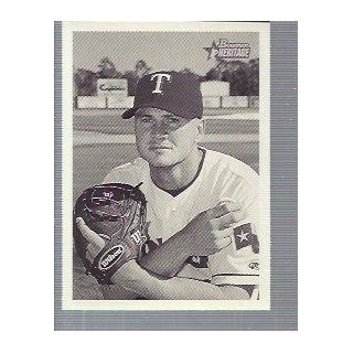 2001 Bowman Heritage #193 Rick Helling Texas Rangers: Sports Collectibles