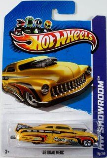 "Hot Wheels '49 Drag Merc ""HW Garage"" (Hw Showroom   2013) #193/250 Die cast Model 1:64 Scale: Toys & Games"