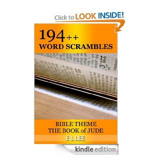 194++ Word Scrambles: Bible Theme The Book of Jude (Bible Word games) eBook: E L LEE: Kindle Store