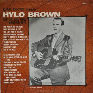 HYLO BROWN   & blue ridge mtn boys RURAL RHYTHM 194 (LP vinyl record): Music