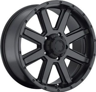 ULTRA   type 195 crusher   16 Inch Rim x 8   (8x6.5) Offset ( 6) Wheel Finish   satin black: Automotive
