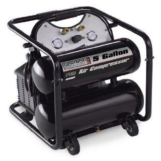 Gentron 5 Gallon Twin Tank Air Compressor : Generator Accessories : Patio, Lawn & Garden