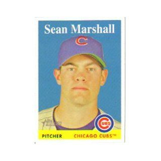 2007 Topps Heritage #189 Sean Marshall: Sports Collectibles