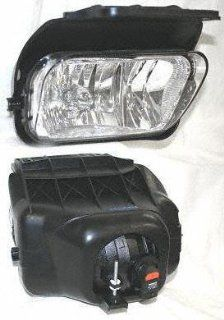 03 04 CHEVY CHEVROLET SILVERADO PICKUP FOG LIGHT RH (PASSENGER SIDE) TRUCK, Assy, w/o Decor Pkg. (2003 03 2004 04) C107507 15190983: Automotive
