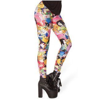 PrettyGuide Women Anime Adventure Time Bro Ball Print Leggings Pants at  Women�s Clothing store
