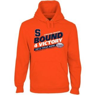 Syracuse Orange 2013 Texas Bowl Bound 4 Victory Pullover Hoodie   Orange