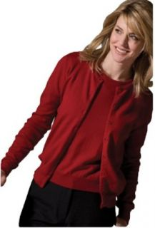 Edwards Garment Women's Corporate Twin Sweater Set, Red, X Small at  Women�s Clothing store