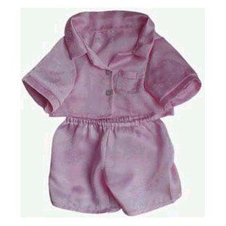 "Pink Silk PJ's Outfit fits 8"" 10"" Stuffed Animals like Webkinz, Shining Star and 8""   10"" Stuffed Animals: Toys & Games"