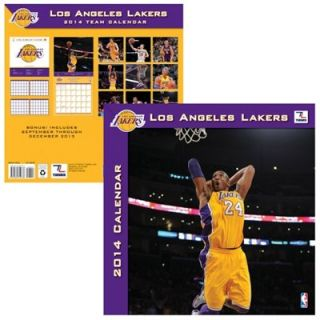 Los Angeles Lakers 2014 Mini Wall Calendar