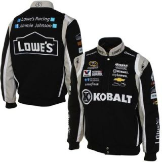 JH Design Jimmie Johnson 2014 Black Twill Jacket