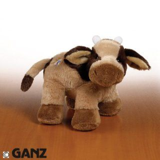 Webkinz Brown Cow Toys & Games