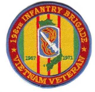 198th Light Infantry Brigade Vietnam Veteran Patch: Everything Else