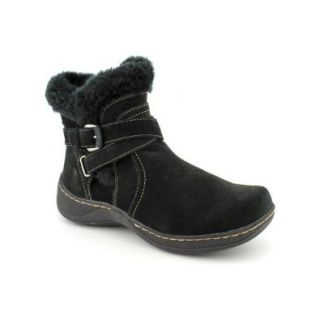 Bare Traps Eryn Womens Ankle Short Winter Boot Shoe Suede Black Size 8.5 Shoes