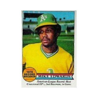 1979 Topps #201 Mike Edwards RB   EX MT: Sports Collectibles