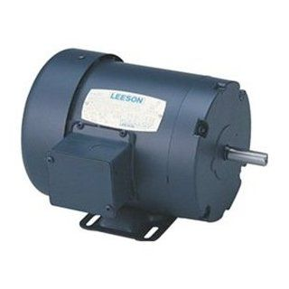 1hp 1725RPM 56 Frame 208 230/460 Volts TEFC Leeson Electric Motor # 110035: Home Improvement