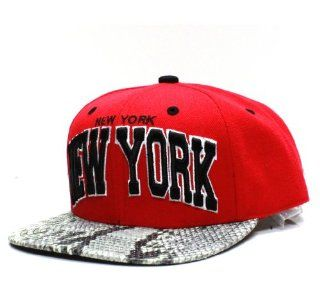 Miami Florida Snake Skin Strap Back Hat Cap Heat Colors Flat Bill City Hunter: Sports & Outdoors