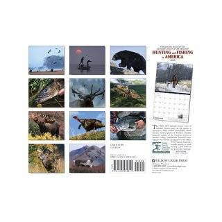 Hunting & Fishing in America 2008 Calendar (Theodore Roosevelt Conservation Partnership) Willow Creek Press 9781595435811 Books