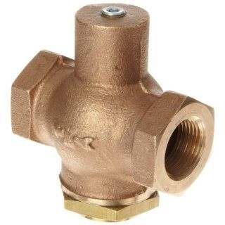 Kingston 205 Series Brass Horizontal Anti Hammering Check Valve, NPT Female: Industrial & Scientific