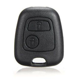 2 Button Remote Key Case Shell For Citroen C1 C4 Peugeot 107 207 307 407 206 306: Automotive