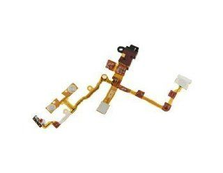 For iPhone 3GS Replacement Headphone Audio Jack Ribbon Flex Cable (Black) Electronics