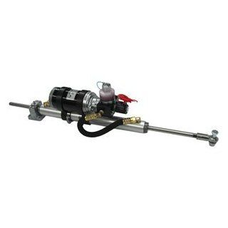 """Octopus 7"""" Stroke Mounted 38mm Bore Linear Drive   12V   Up to 45' or 24,200lbs: Sports & Outdoors"""