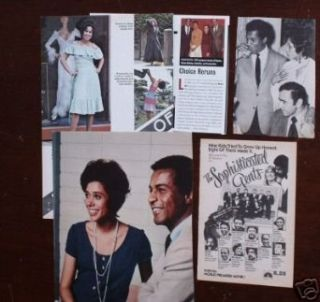 CLIPPINGS Denise Nicholas Lloyd Haynes ROOM 222: Collectibles & Fine Art