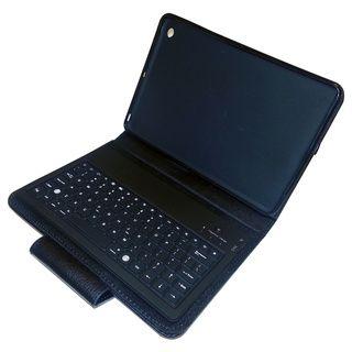 PU Leather iPad Mini Case Holder with Bluetooth Keyboard LCM Home Fashions iPad Accessories