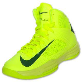 brand new 5d204 bd238 Nike Hyperdunk Kids  Basketball Shoes Volt Gorge Green
