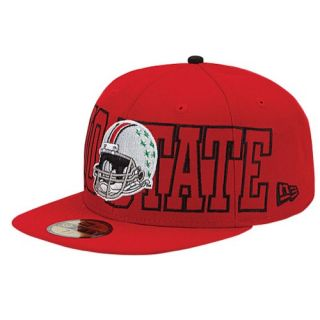 New Era College 59Fifty Wrap It Up Cap   Mens   Basketball   Accessories   Ohio State Buckeyes   Red