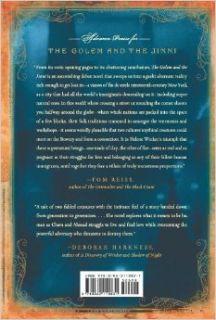 The Golem and the Jinni: A Novel: Helene Wecker: 9780062110831: Books