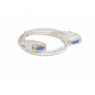 Generic 1.4m DB9 DB9 Female Female COM RS232 Serial Port Modem Cable Cord: Computers & Accessories