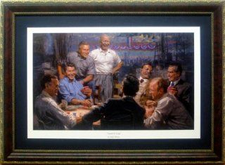 "Republican Presidents ""Grand Ol' Gang""by Andy Thomas Framed Mini Print: Everything Else"