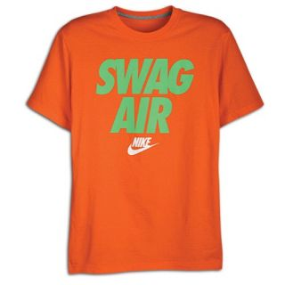 Nike Swag Air Short Sleeve T Shirt   Mens   Casual   Clothing   Electro Orange