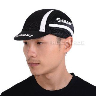 Giant Cycling Sports Outdoor Cap Brim Team Replica Polyester Cap Hat Black New: Sports & Outdoors