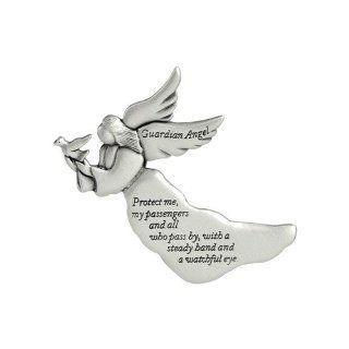 Cathedral Art KVC238 Angel Visor Clip, Guardian Angel, 2 3/8 Inch   Stationery