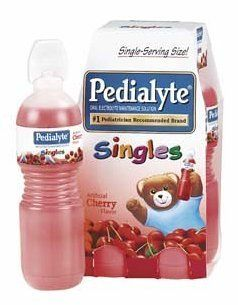 Pedialyte Singles Oral Electrolyte Maintenance Solution, Apple , Case of 32 Bottles  each 8 Fluid Ounces (237 ml): Health & Personal Care