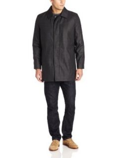 Ike Behar Men's Ford Flannel Tech Rain Jacket: Clothing