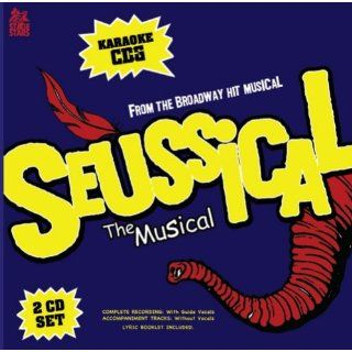 Sing The Broadway Musical SEUSSICAL (2 Disc Karaoke CDG) Music