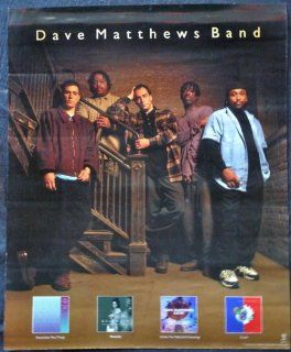 Dave Matthews Band   Band Pic and Album Covers   Rare Advertising Poster 18x22: Everything Else