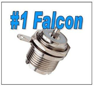 Falcon Products So239 Round Female Panel Mount with Ground Lug: Electronics