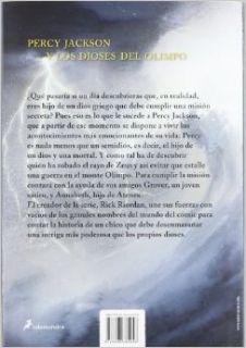 Percy Jackson y los dioses del Olimpo: El ladron del rayo novela grafica (Spanish Edition) (Percy Jackson & the Olympians Graphic Novel): Rick Riordan, Salamandra, Attila Futaki: 9788498384048: Books