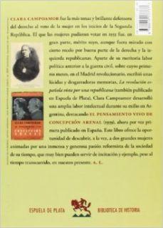 El pensamiento vivo de Concepci�n Arenal Clara ; Estrella Ruiz, Blanca, (prol.) Campoamor 9788415177777 Books