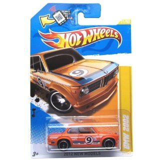 2012 Hot Wheels New Models BMW 2002 Orange #21/247: Toys & Games