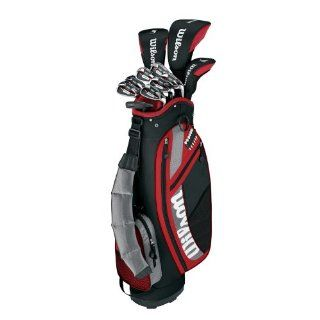 Wilson Golf Profile Senior Package Set (Right Hand) : Golf Club Complete Sets : Sports & Outdoors